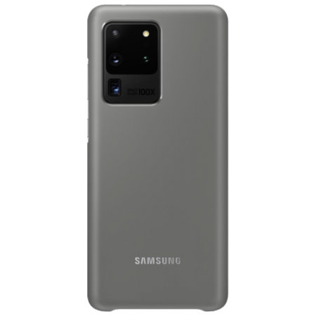 Official Samsung Galaxy S20 Ultra LED Cover Case - Grey