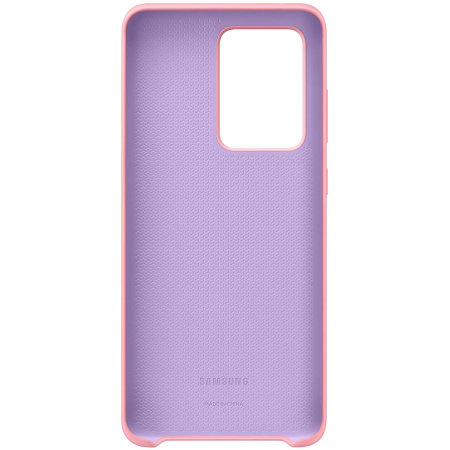 Official Samsung Galaxy S20 Ultra Silicone Cover Case - Pink