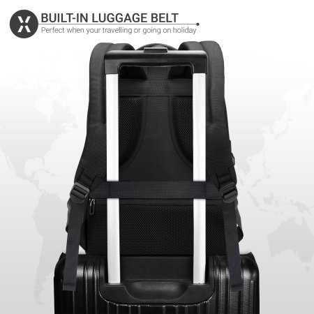 "Olixar Xplorer MacBook Pro 13"" Travel Backpack - Black"