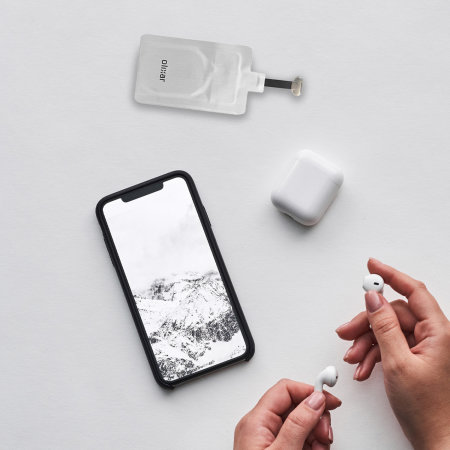 Olixar Ultra Thin USB-C Wireless Charging Adapter - Silver