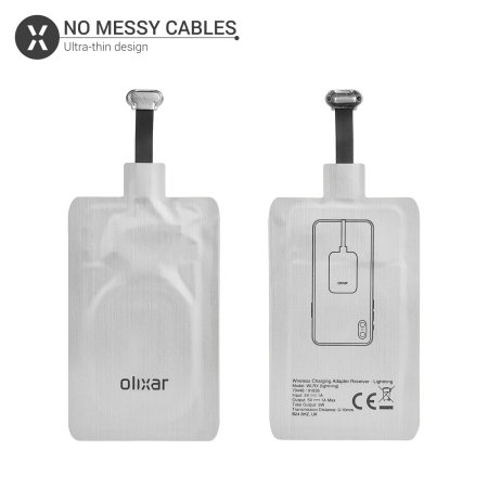 Olixar iPhone Lightning Qi Universal Wireless Charging Adapter