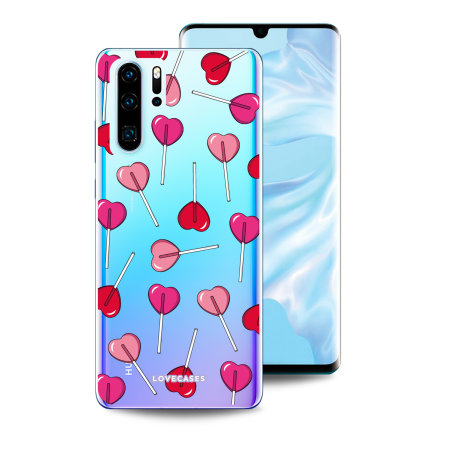 LoveCases Huawei P30 Pro Lollypop Clear Phone Case