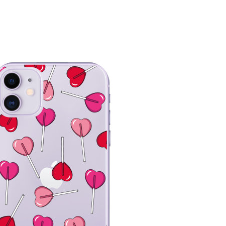 LoveCases iPhone 11 Lollipop Clear Phone Case