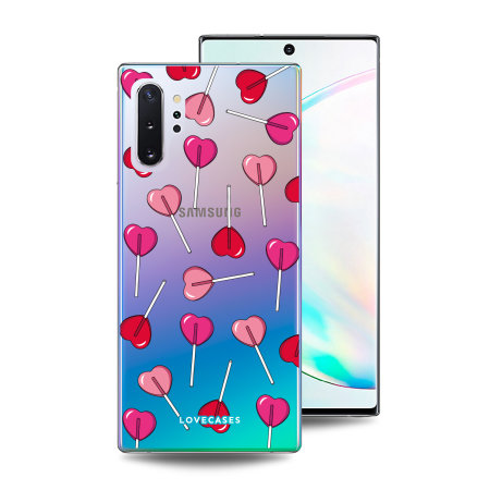 LoveCases Samsung Note 10 Plus Lollypop Clear Phone Case