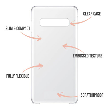 LoveCases Samsung S10 Plus Lollypop Clear Phone Case