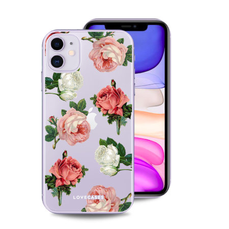 LoveCases iPhone 11 Rose Cases Trio Gift Pack - Clear Multi