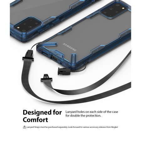 Ringke Fusion X Samsung Galaxy S20 Plus Tough Case - Space Blue