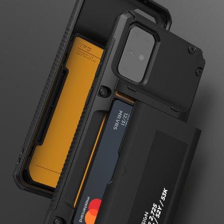VRS Damda Glide Pro Samsung Galaxy S20 Tough Case - Black
