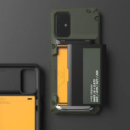 VRS Damda Glide Pro Samsung Galaxy S20 Tough Case - Green