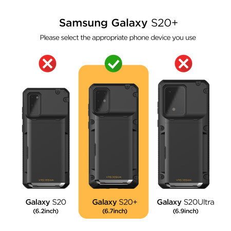 VRS Damda Glide Pro Samsung Galaxy S20 Plus Tough Case - Green
