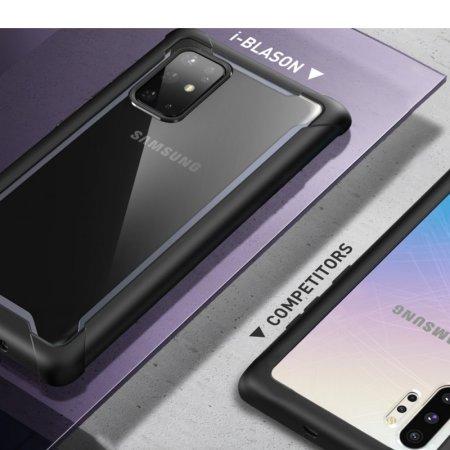i-Blason Ares Galaxy S20 Plus Bumper Case - Black
