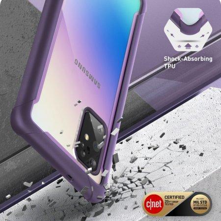 i-Blason Ares Galaxy S20 Plus Bumper Case - Purple