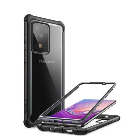 i-Blason Samsung S20 Ultra Ares Bumper Case - Black