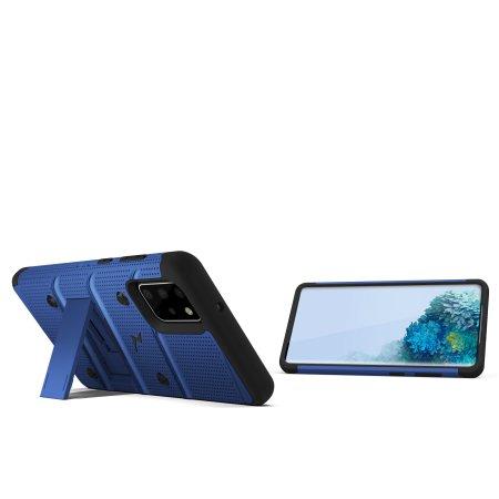 Zizo Bolt Samsung Galaxy S20 Tough Case - Blue