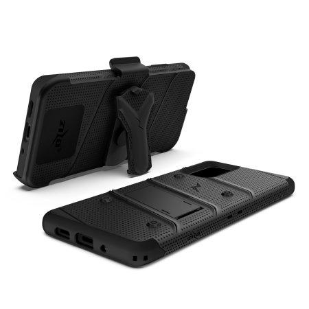 Zizo Bolt Samsung Galaxy S20 Plus Tough Case - Black