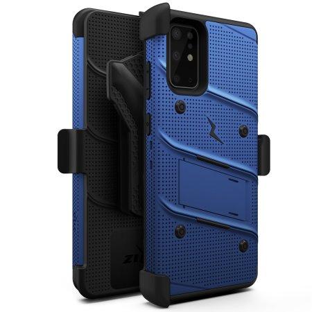 Zizo Bolt Samsung Galaxy S20 Plus Tough Case - Blue