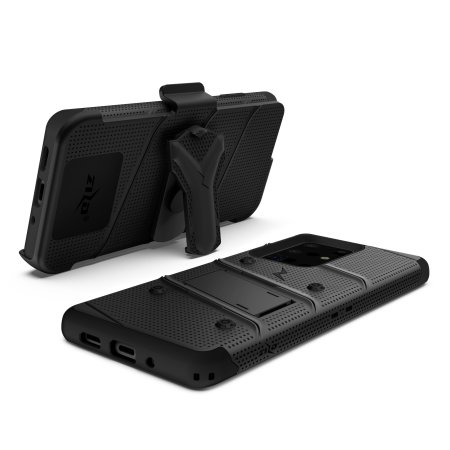 Zizo Bolt Samsung Galaxy S20 Ultra Tough Case - Black