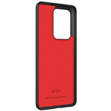 Zizo Ultra Thin Revolve Series Galaxy S20 Ultra Ring Case- Black