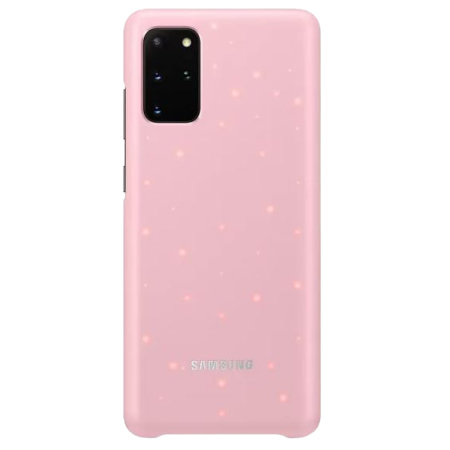 Official Samsung Galaxy S20 Ultra LED Cover Case - Pink