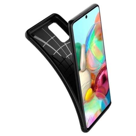 Spigen Rugged Armor Samsung Galaxy A71- Matte Black