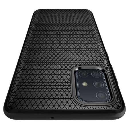 Spigen Liquid Air Samsung Galaxy A71 Case - Matte Black