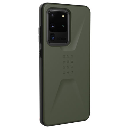 UAG Samsung Galaxy S20 Ultra Civilian Series Tough Case - Olive Drab