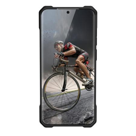 UAG Monarch Samsung Galaxy S20 Plus Case - Carbon Fiber