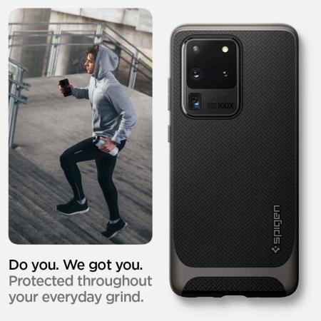 Spigen Neo Hybrid Samsung Galaxy S20 Ultra Case - Gunmetal