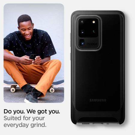 Spigen Neo Hybrid NC Samsung Galaxy S20 Ultra Case - Clear
