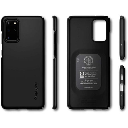 Spigen Thin Fit Samsung Galaxy S20 Plus Shell Case - Black
