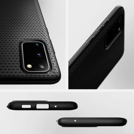 Spigen Liquid Air Samsung Galaxy S20 Plus Case - Matte Black