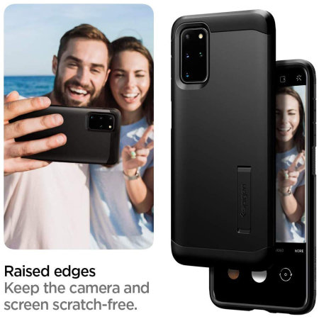 Spigen Tough Armor Samsung Galaxy S20 Plus Case - Black