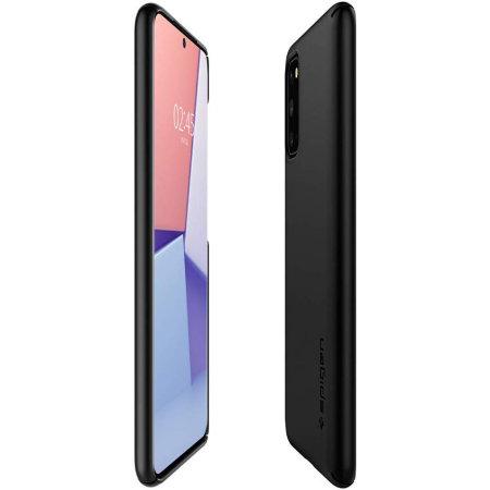 Spigen Thin Fit Samsung Galaxy S20 Shell Case - Black