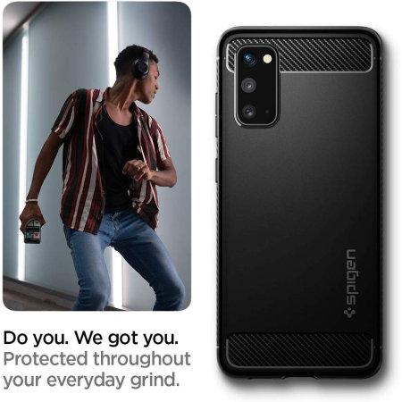 Spigen Rugged Armor Samsung Galaxy S20 - Matte Black