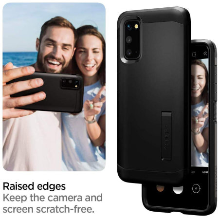 Spigen Tough Armor Samsung Galaxy S20 Case - Black