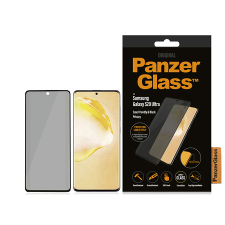 PanzerGlass Samsung S20 Ultra Case Friendly Privacy Screen Protector