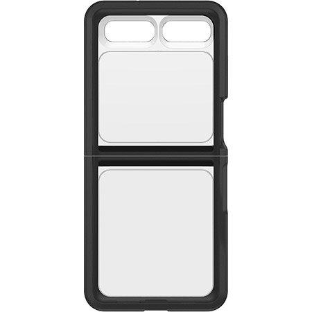Otterbox Symmetry Series Samsung Galaxy Z Flip Flex Case - Black/Clear