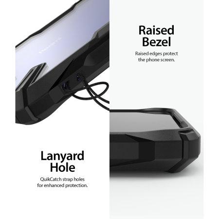 Coque Xiaomi Redmi K30 Ringke Fusion X – Noir