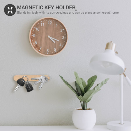 Olixar Wooden Wall Mounted Magnetic Key Holder