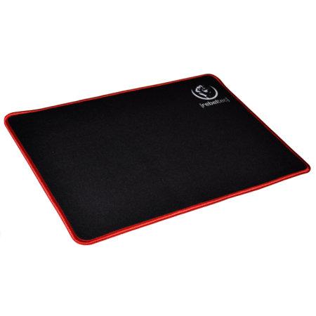 Rebeltec GAME SliderM+ Ultra Glide Mouse Pad - Black/Red