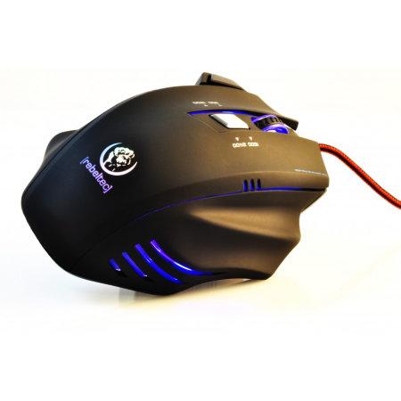Rebeltec Punisher 2 Extreme Precision Gaming Mouse - Black
