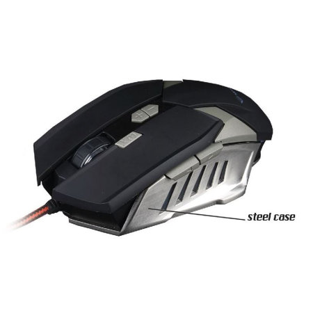 Rebeltec Destroyer Ultimate Precision 8 Button Gaming Mouse  - Black