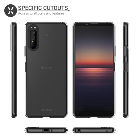 Olixar Ultra-Thin Sony Xperia 1 II Case -100% Clear