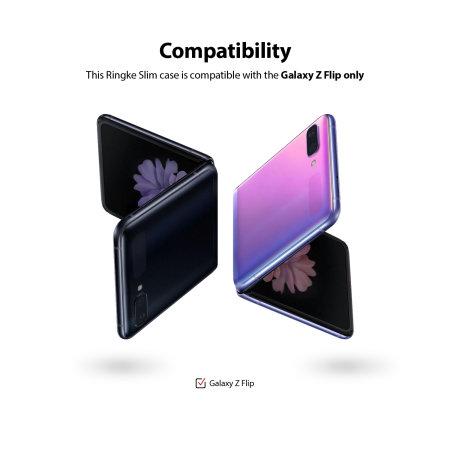 Ringke Slim Samsung Galaxy Z Flip Tough Case - Purple