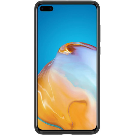 Official Huawei P40 Silicone Protective Case - Black