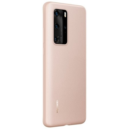 Official Huawei P40 Pro Protective Back Cover Case - Pink