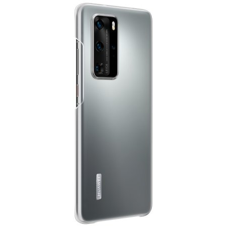 Official Huawei P40 Pro Back Cover Case - Clear