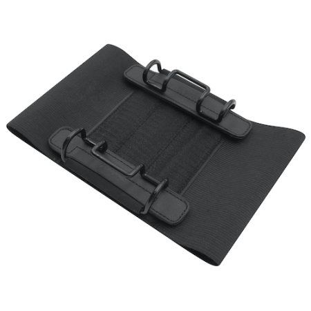 Macally Car Headrest Universal Tablet Strap Holder - Black