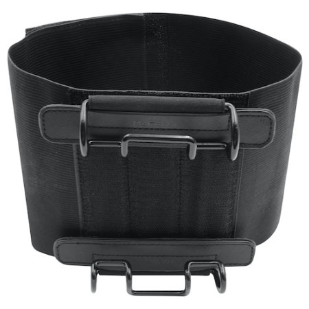 Macally Car Headrest Universal Tablet Strap Holder - Black