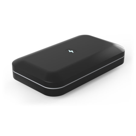 PhoneSoap 3.0 UV Smartphone Sanitiser & Charger - Black